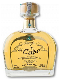 El Capo Tequila Reposado 750ml